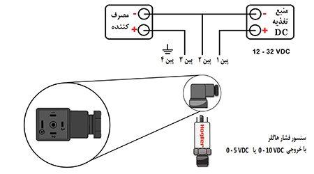 سنسور فشار با خروجی ولتاژی